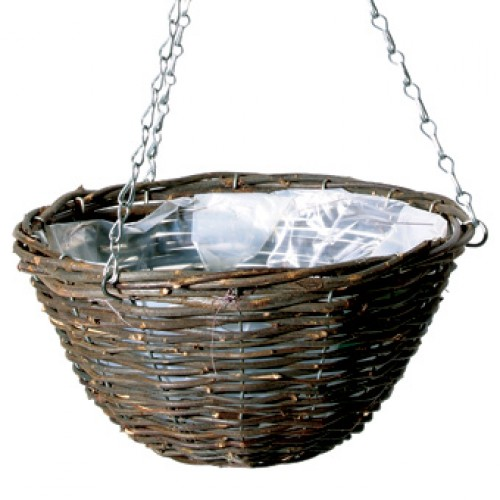 Banana Leaf and Corn Round Hanging Baskets 12 inches | ScotPlants Direct